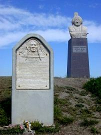 Sitting bull Monument